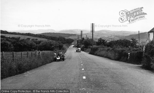 Borth, View From Commins Road c.1955