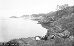 Borth-Y-Gest, Bathing Place 1921