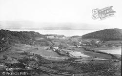 Borth-Y-Gest, From Moel-Y-Gest c.1931