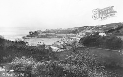 Borth-Y-Gest, From Portmadoc Footpath c.1931
