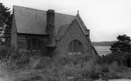 Borth-Y-Gest, St Cyncar's Church c.1955