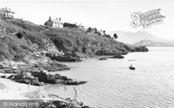 Borth-Y-Gest, The Beach c.1955