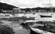Borth-Y-Gest, The Harbour 1935