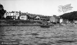 Borth-Y-Gest, The Harbour c.1955