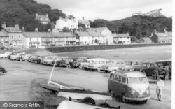 Borth-Y-Gest, The Harbour c.1960