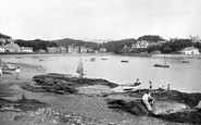 Borth-Y-Gest, the Harbour c1960