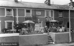 Borth-Y-Gest, The Igloo Cafe c.1955
