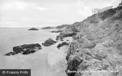 Borth-Y-Gest, The Rocks 1931