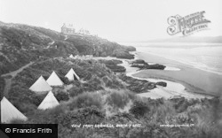 Borth-Y-Gest, View From Sandhills c.1930