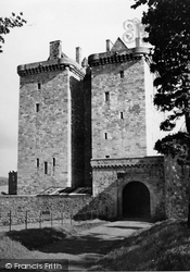 Borthwick Castle, 1950
