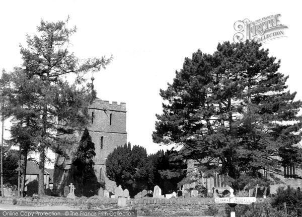 Bosbury, Church Tower And Churchyard c.1960