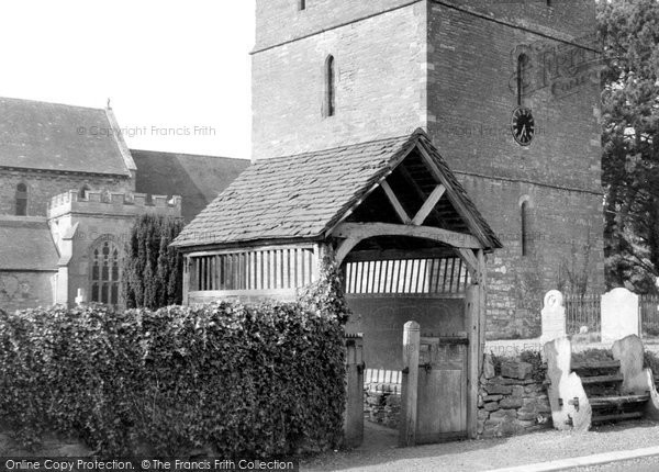 Photo of Bosbury, Lychgate c.1960