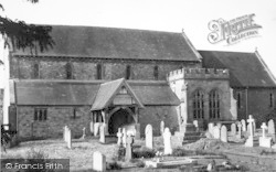 Bosbury, The Church c.1960