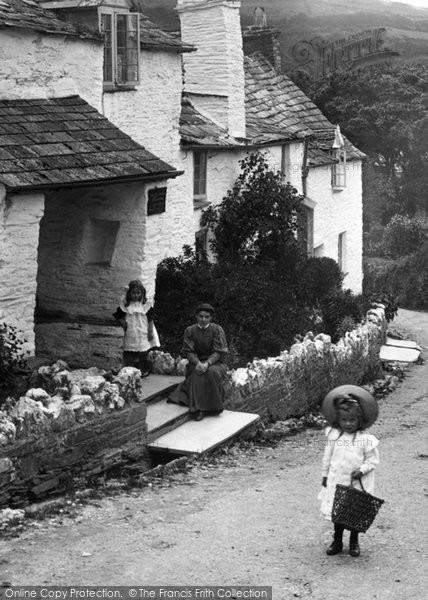 Boscastle, A Cottage 1906