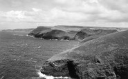 Boscastle, Coast To The North  c.1960