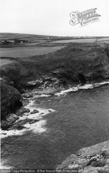 Boscastle, Coast To The South c.1960