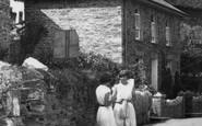 Boscastle, Girls In Dunn Street 1936