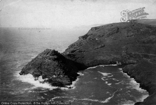 Boscastle, Haven 1894