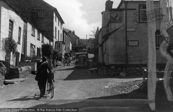 Boscastle, High Street c.1955