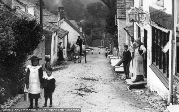 Photo of Boscastle, In The Village 1906