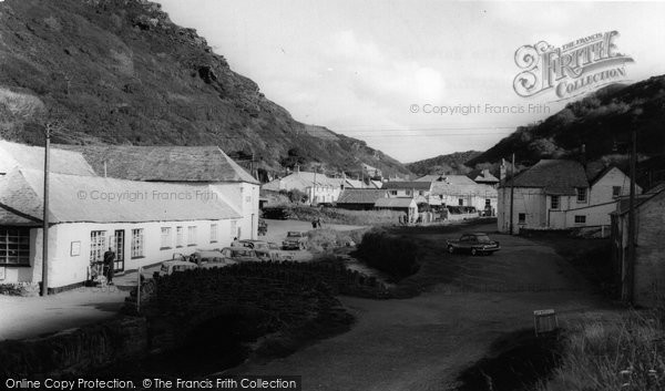 Boscastle, Old Storehouse And The Harbour  c.1960