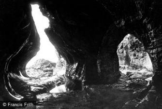 Boscastle, Pentargen Caves 1895