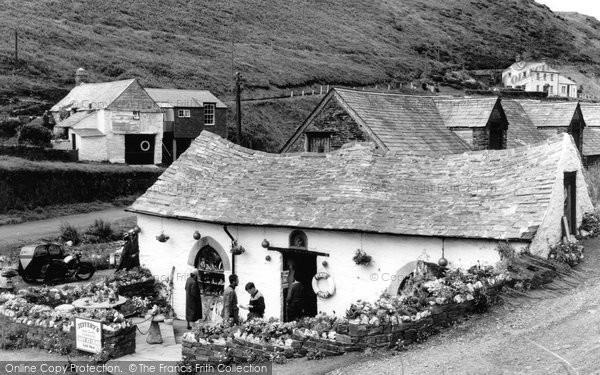 Boscastle, Pixie Cottage c.1960