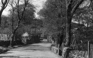 Boscastle, The Avenue c.1955