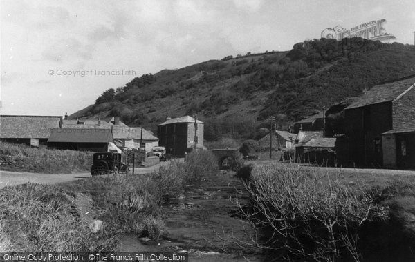 Boscastle, The Bridge c.1955