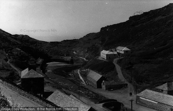 Boscastle, The Harbour c.1955