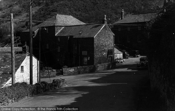 Boscastle,the old Mill House c1960,Cornwall
