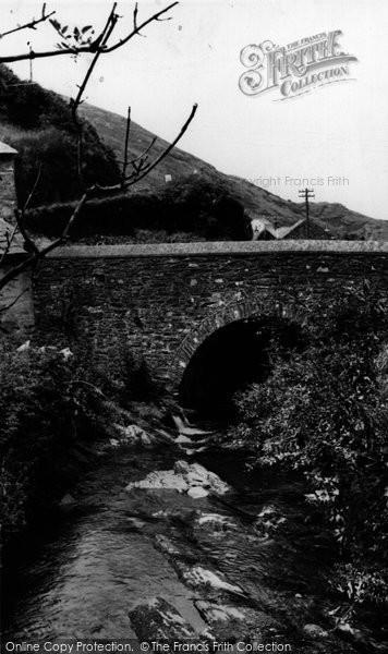 Boscastle, The Stream c.1960