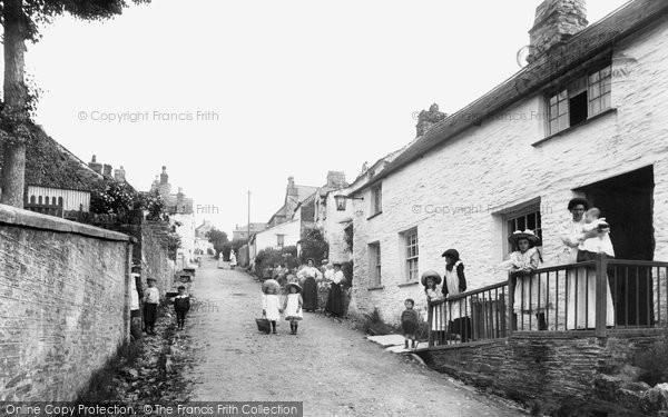 Photo of Boscastle, the Village 1906