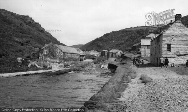 Boscastle, The Village c.1955