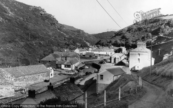 Boscastle, The Village c.1960