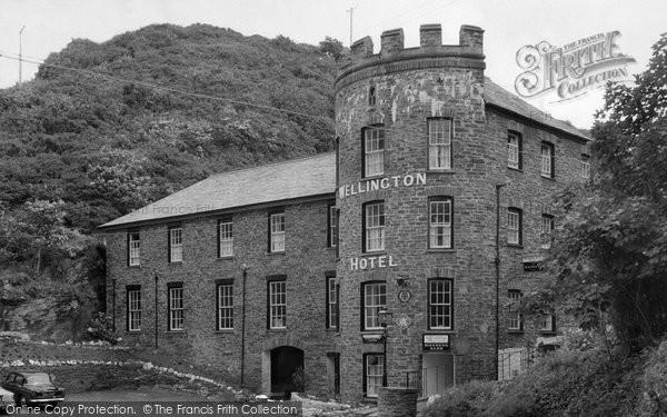 Boscastle, The Wellington Inn c.1961
