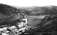 Boscastle, Valency Valley 1894