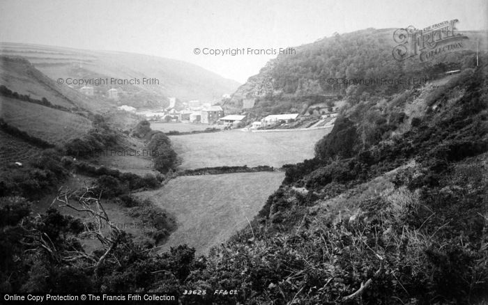 Boscastle, Valency Valley 1894