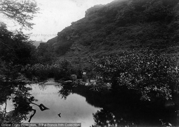 Boscastle, Valency Valley 1906