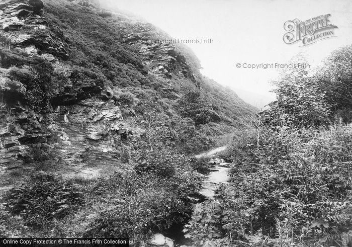 Boscastle, Vallency Valley 1906