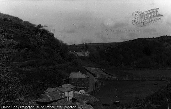 Boscastle, Valley c.1955