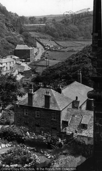 Boscastle, View From The Village  c.1960
