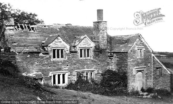 Boscastle, Welltown Manor c.1870