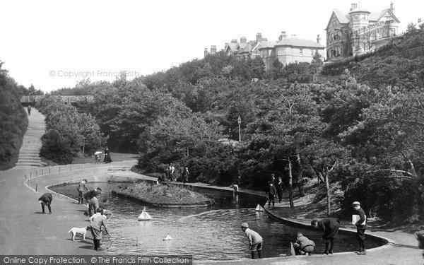 Boscombe, Boscombe Chine Gardens 1903