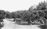 Boscombe, Boscombe Chine Gardens 1906