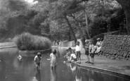 Boscombe, Boscombe Chine Gardens 1931