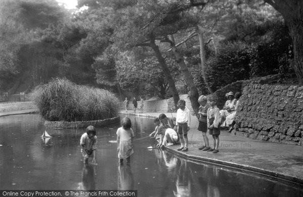 Photo of Boscombe, Boscombe Chine Gardens 1931
