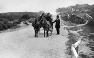 Boscombe, Boscombe Hill c.1865