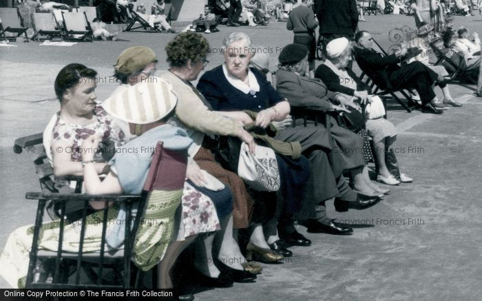 Boscombe, On The Promenade c.1960