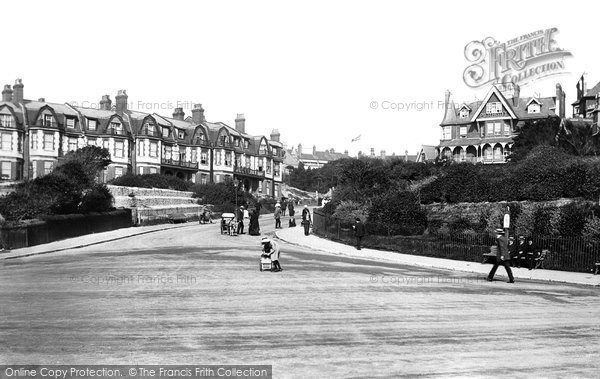 Boscombe, Sea Road 1913
